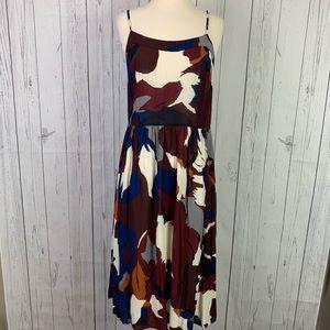 NWT Loft   printed summer dress